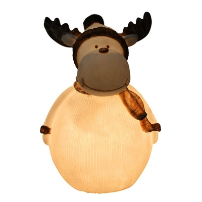 Christmas Desk Deer Lamp