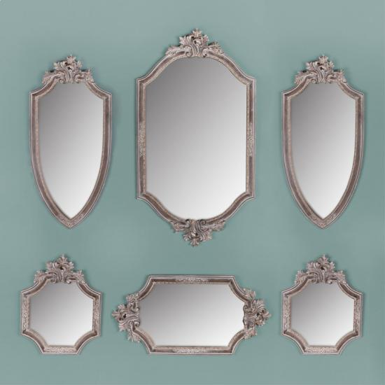 Classical wall mirrors